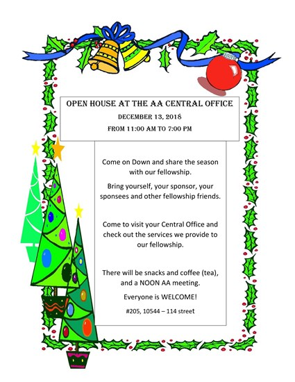 Central Office Open House