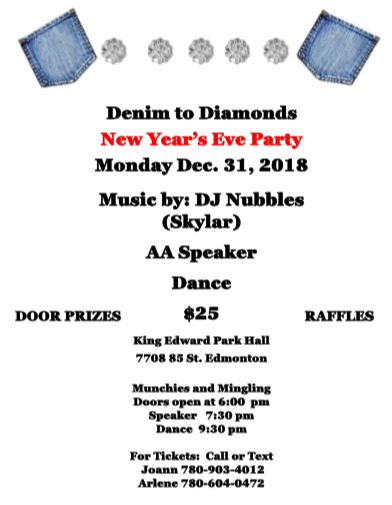 Denim to Diamonds NY Poster