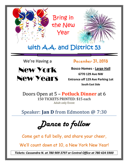 District 53 New Years