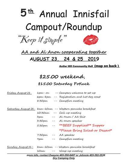 Innisfail Campout