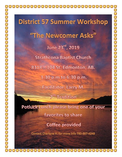 District 57 Workshop